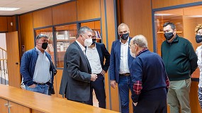 Foto de Persax recibe la visita del Conseller de Economía Sostenible de la Generalitat Valenciana, Rafael Climent