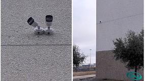 Foto de Instalación de cámaras térmicas Dahua en una importante nave de logística de Madrid, gracias a IMAN Seguridad
