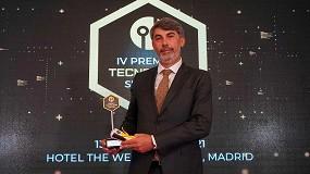 Foto de Husqvarna, galardonada en la IV Edición de los Premios Nacionales de Tecnología Siglo XXI