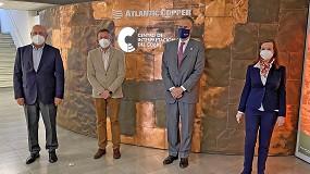 Foto de El delegado de Desarrollo Sostenible de la Junta visita el complejo metalúrgico de Atlantic Copper