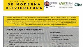 Foto de Olint y la UCO organizan el I Curso de Olivicultura Moderna