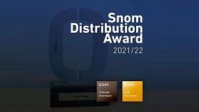 Foto de Snom premia a Wifidom en sus 'Distributor Awards'