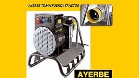 Foto de Nueva gama de generadores Ayerbe TFT para la toma de fuerza del tractor