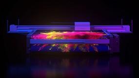 Foto de swissQprint lanza tintas de neón para sus impresoras de mesa plana y roll to roll con curado LED UV