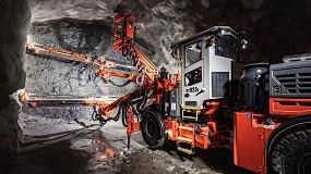 Foto de Sandvik presenta el nuevo Jumbo DT923i: mayor productividad y precisión en túneles