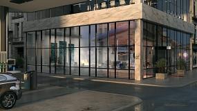 Foto de Reynaers Aluminium atualiza a variante Corta-Fogo do sistema de fachada ConceptWall 50