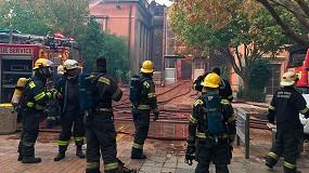 Foto de Un incendio en la biblioteca de la Universidad Ciudad del Cabo destruye la mayor colección de obras africanas, única en el mundo