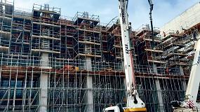 Foto de La cimbra MK de Ulma demuestra su gran capacidad en la construcción de una Planta de Conversión de Residuos