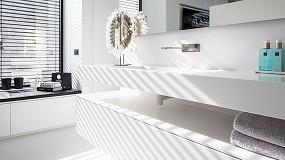 Foto de Calidad y estética a medida con Hi-Macs para un luminoso chalé en Holanda