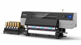 Foto de Epson lanza la impresora de sublimación de tinta de 76 pulgadas SC-F10000H
