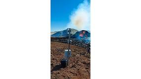Foto de Una cámara Wisenet captura imágenes en directo de la erupción de un volcán