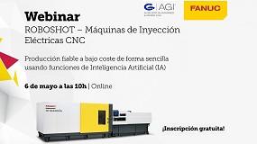 Foto de Webinar de Fanuc: 'Roboshot - Máquinas de inyección eléctricas CNC'