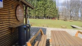 Foto de Cervic presenta la papelera de Reciclaje Oslo Selectiva, apta para cualquier entorno de exterior