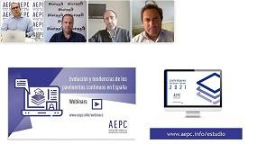 Foto de MC Spain participa en la presentación del primer estudio de pavimentos continuos de AEPC