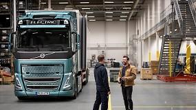 Foto de Volvo Trucks pronta para eletrificar grande parte do transporte de mercadorias