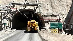 Foto de El nuevo mixer Mixkret 6 de Putzmeister concluye con éxito las pruebas en la mina Chuquicamata Subterránea