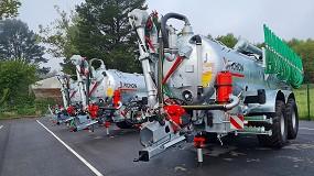 Foto de Durán Maquinaria recibe las primeras unidades de las cisternas SV de Pichon