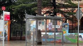Foto de El Ayuntamiento de Bonastre, Tarragona, instala dos marquesinas de autobús