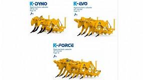 Foto de Alpego refuerza su gama de subsoladores con las series K-Dyno, K-Evo y K-Force