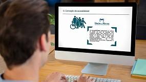 Foto de Unión de Mutuas forma a sus profesionales en lectura fácil y accesibilidad de documentos web
