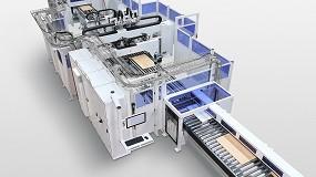 Foto de El centro de mecanizado continuo Homag Drillteq L-500 permite mecanizar por seis lados