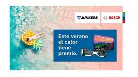 Foto de Campaña estival de Junkers-Bosch para promover la instalación de calentadores y termos eléctricos