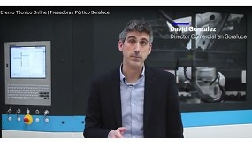 Foto de David González explica en un video los detalles del próximo evento virtual de Soraluce