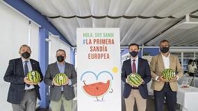 Foto de Almería hace marca con Sandi, la primera sandía en llegar a los consumidores europeos