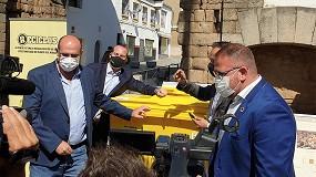 Foto de Mérida lleva el reciclaje con incentivos a Extremadura, de la mano de Reciclos