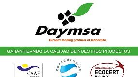 Foto de Daymsa avanza hacia soluciones naturales para la agricultura del mañana