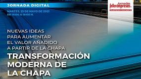 Foto de Interempresas organiza conferência digital sobre processamento de chapa