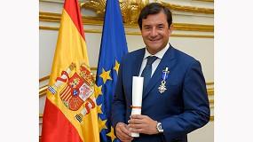 Foto de El presidente de NetApp, el español César Cernuda, condecorado con la Cruz de Oficial de la Orden del Mérito Civil