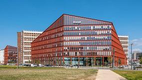 Foto de Serge Ferrari equipa el nuevo campus de la empresa francesa Orange Lumière en Lyon, Francia