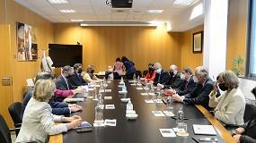 Foto de Planas destaca los servicios tecnológicos que ofrece el Grupo Tragsa