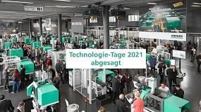 Foto de Arburg cancela sus 'Technology Days' 2021