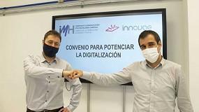 Foto de IMH e Innovae introducirán las tecnologías digitales en los cursos de formación