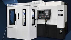 Foto de Okuma amplía sus soluciones de automatización con Genos L3000-e Standroid
