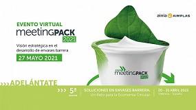 Foto de Más de 130 empresas del sector del envase confirman su asistencia a la próxima edición virtual MeetingPack 2021