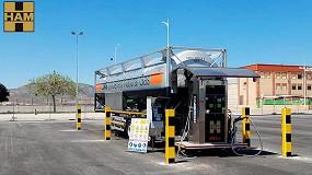 Foto de HAM inaugura un nuevo punto de suministro de GNL en Caudete, Albacete