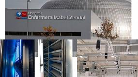 Foto de Sistemas de polarización activa SIPAP y gotocatálisis SFEG en el Hospital Isabel Zendal