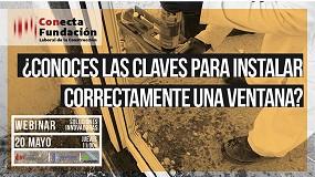 Foto de La Fundación Laboral de la Construcción organiza un webinar sobre la correcta instalación de ventanas
