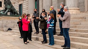 Foto de Teresa Ribera celebra la aprobación de la Ley de Cambio Climático y Transición Energética