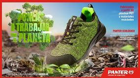 Foto de De botella de plástico a calzado de seguridad ecológico