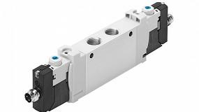 Foto de VUVG, la electroválvula universal de Festo para aplicaciones estándar