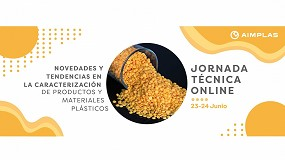 Foto de Una jornada online presentará las novedades y tendencias en caracterización de productos y materiales plásticos