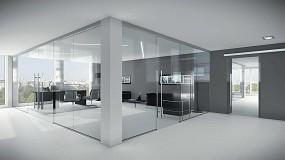 Foto de Fluido+, sistemas invisibles, versátiles y compactos para puertas correderas