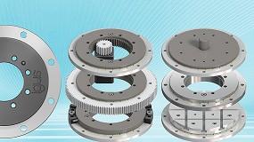 Foto de Rotação em espaços reduzidos: a igus aumenta a sua gama de anéis rotativos de baixo perfil