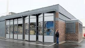 Foto de Deutz AG lleva sus prototipos a su nuevo centro de innovación a través de puertas plegables de Efaflex