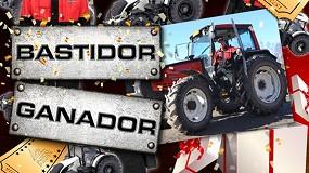 Foto de Valtra regala un reacondicionamiento de tractor en la campaña 'Bastidor Ganador'