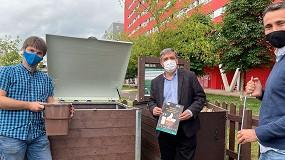 Foto de Salburua, primer barrio de Vitoria-Gasteiz en estrenar zona de compostaje comunitario